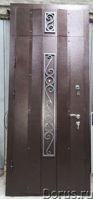 Металлические двери - Материалы для строительства - ООО «Самум39» изготавливает стальные входные две..., фото 2