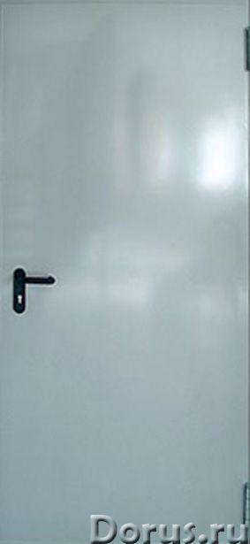 Противопожарные двери - Противопожарное оборудование - ООО «Самум39» изготавливает глухие однопольны..., фото 1
