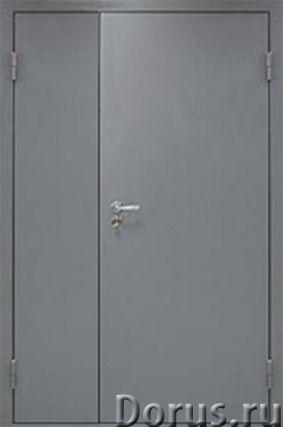 Противопожарные двери - Противопожарное оборудование - ООО «Самум39» изготавливает глухие однопольны..., фото 2